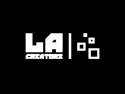 LA Creators Logo with Segment Icon