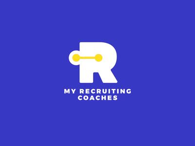 Custom Recruitment Coaching Logo Design