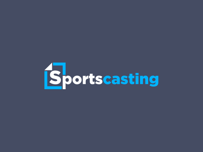 Custom Sports Podcast Blog Logo Design