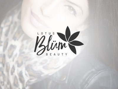 Custom Beauty & Makeup Logo Design icon cosmetics beauty makeup design custom branding lotus flower logo design logo