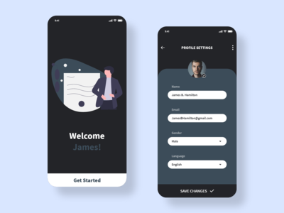 DailyUI: 007 - Settings