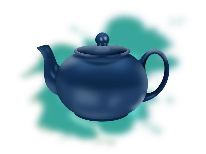 Tea Pot illustration vector design vector illustration