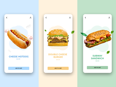 Food delivery app concept food delivery app sandwiches burger snacks illustration android app ios app ios android mobile app mobile ui app design minimal 3d 2d app ux ui