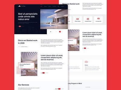 Tent Palace Website Design interaction design design website concept userinterfacedesign user experience userinterface website design website ux ui