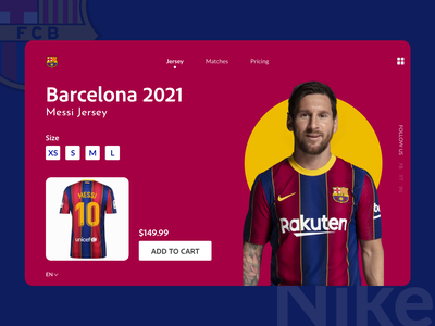 Football merchandise store landing page app concept store goal kick american soccer american football 2021 web design landing page tshirt soccer messi football trending minimal interaction design branding illustration ux ui