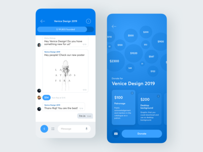 Crowdfunding Chat