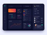 Financial Dashboard - App Design