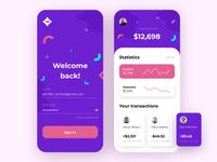 Finance App - Mobile App