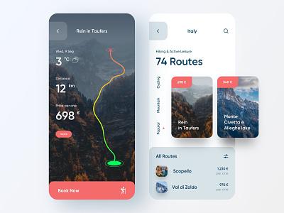 Tourism Service — Mobile App traveling travel app travel tourist tourism booking app booking mobile design mobile app design app mobile ui mobile app app design