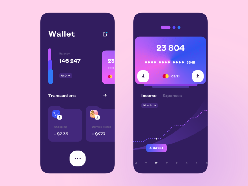 Finance App - Mobile Design