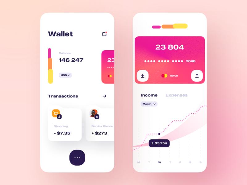 My finance - Mobile App banking app bank app banking financial app finance app financial finances fintech finance mobile design app mobile app design mobile ui mobile app app design