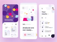 Medical service - Mobile App medical design medical care medical app medicine medical medecine mobile design mobile app design app mobile ui mobile app app design