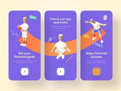 Finance Onboarding - Mobile App fintech app banking app bank app finance app bank banking fintech finance mobile design mobile app design app mobile ui mobile app app design