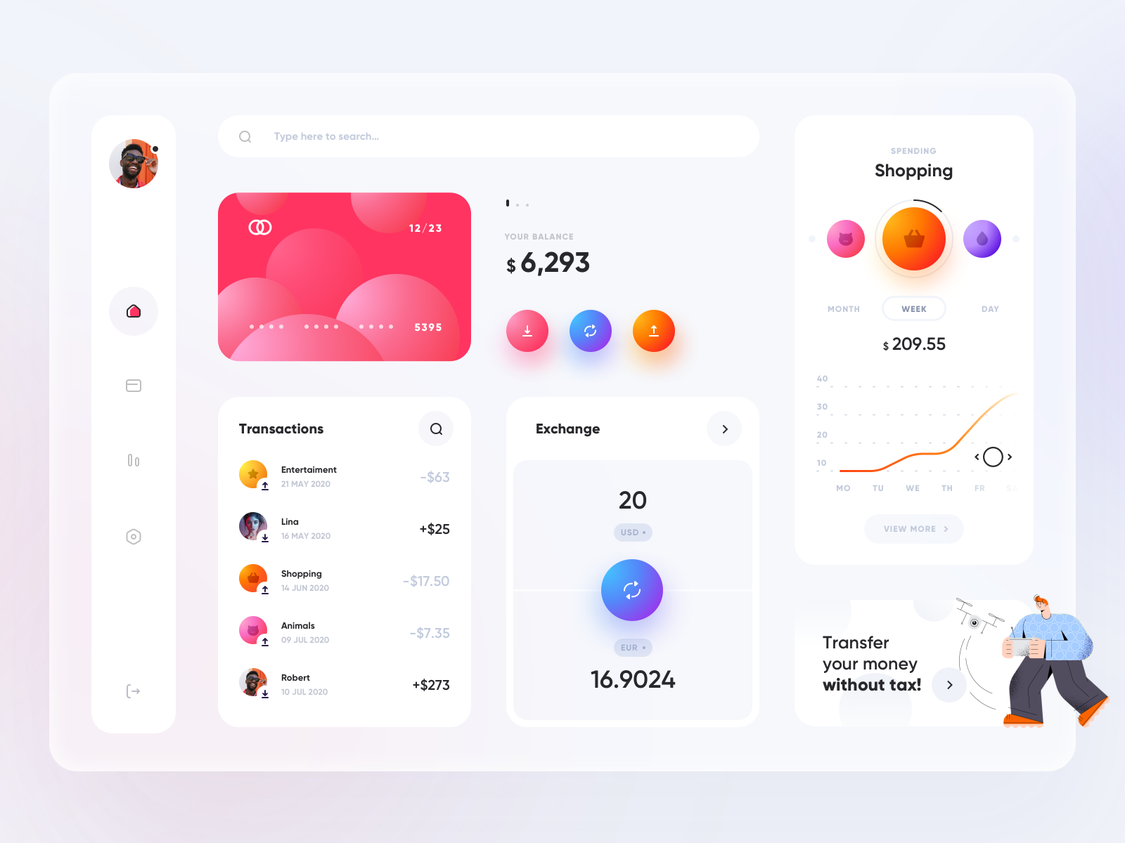 Online banking - App Design