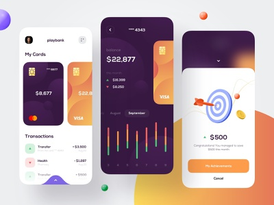 Mobile bank - Mobile Design financial app fintech app bank app banking app finance app bank banking fintech finance mobile design mobile app design app mobile ui mobile app app design