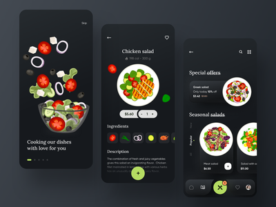 Food Delivery service - Mobile App food delivery application food delivery service food delivery app food delivery fooddelivery food illustration food and drink food app mobile design mobile app design app mobile ui mobile app app design