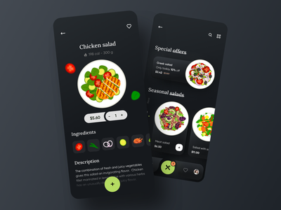 Food delivery service - Mobile App food delivery application food delivery service food delivery app food delivery food design food illustration food and drink food app mobile design mobile app design app mobile ui mobile app app design