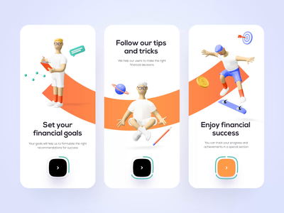 Onboarding for banking - Mobile App banking app bank app financial app financial finance app bank banking fintech finance mobile design mobile app design app mobile ui mobile app app design