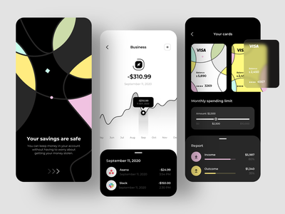 Finance app - Mobile app banking app bank app financial app financial finances finance app bank banking fintech finance mobile design mobile app design app mobile ui mobile app app design