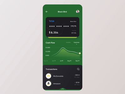 Banking App - Mobile Concept