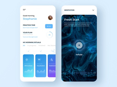 Morning rituals - Habit tracker App
