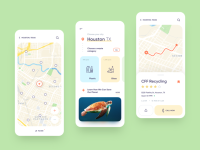 Eco App - Mobile Concept