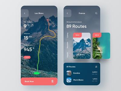 Tourism App — Mobile Concept animations animation trip travel app travel agency travel tours tourism mobile ui mobile design mobile app design mobile app booking app booking app design