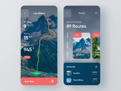 Tourism App — Mobile Concept animations animation trip travel app travel agency travel tours tourism mobile ui mobile design mobile app design mobile app booking app booking app design