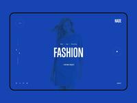 Concept for Digital Agency - Web Design