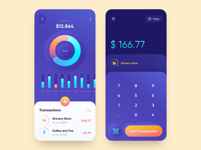Personal Finance App mobile design mobile app design budget fintech app financial finance app fintech finance app mobile ui mobile app app design
