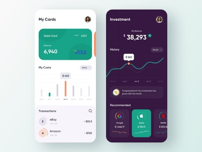 Mobile banking - Mobile app banking app banking bank finance app finances fintech app finance fintech mobile app design app mobile ui mobile app app design