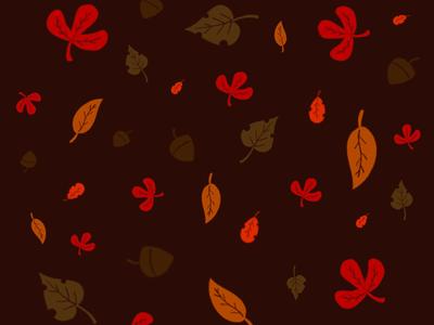 Otoño pattern otoño autumn ilustration
