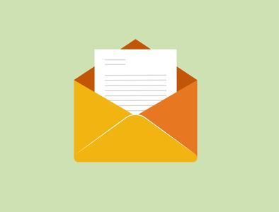 Icon Email Illustration