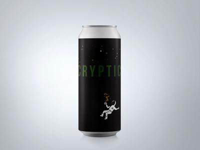 """Cryptic"" Can Design : Ventura Coast Brewery"