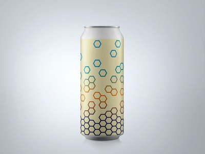 """Refractal"" Can Design : Ventura Coast Brewery"