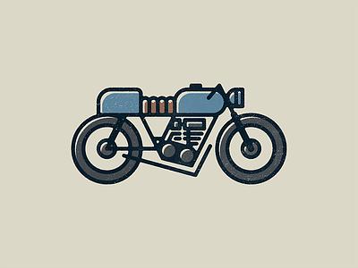Moto illustration motorcycle cafe racer design moto vector print bike motorcycles