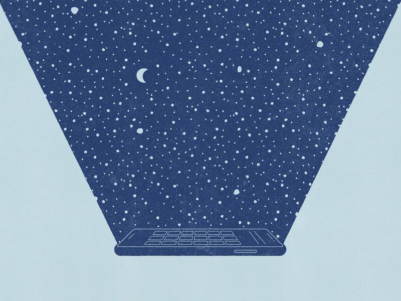 Dark Mode design darkmode illustration