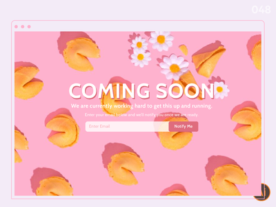 Coming Soon_DailyUI 048