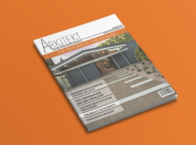 Arkitekt Magazine Cover