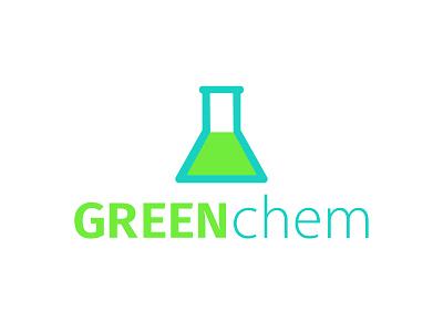 Greenchem Logo minimal icon typography vector adobe illustrator chemicals chemical eco friendly branding designer branding design branding brand designer brand design brand logodesign logo design logos logo design graphic design