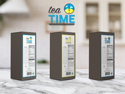 tea TIME back labels
