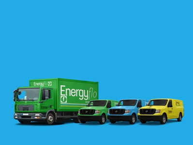 Energyflo vehicle wraps
