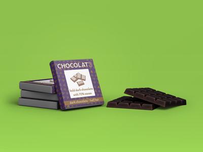 CHOCOLAT3 - chocolate bar wrap
