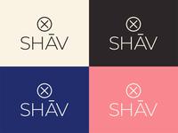 SHĀV logos