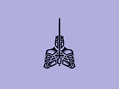 Knight knights symbol logo crusader branding mark knight
