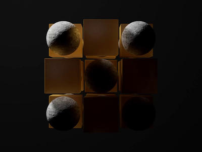 Cube Loop #2 crypto nft loop cgi animation render c4d design 3d crislabno