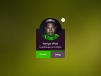 Invitation // Social App