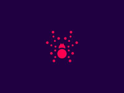 Arachne icon symbol mark spider icon arachne crislabno