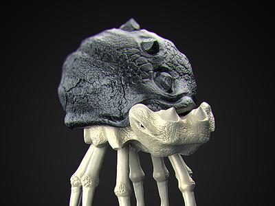 Bug // Zbrush + Modo alien bug rendering modelling sculpting 3d crislabno