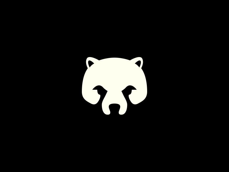 медведь картинка минимализм продаже загородных